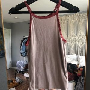 Urban Outfitters Ringer Tank